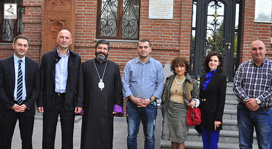 The President of the Agency of Religious Affairs of Georgia and his staff had a meeting with the Primate of the Armenian Diocese in Georgia