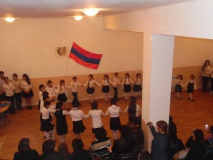 Akhalkalak's youth center celebrated Armenia's Independence Day