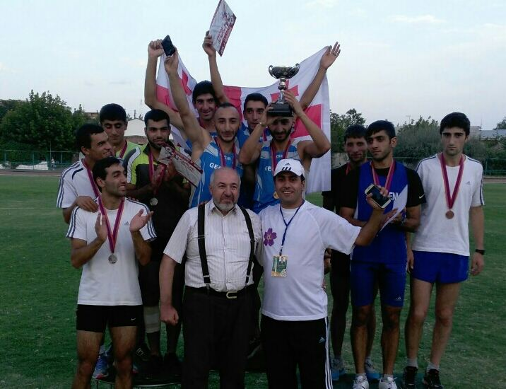 Akhaltskha's athletes leaving Pan-Armenian Games with 5 gold, 2 silver and 5 bronze medals