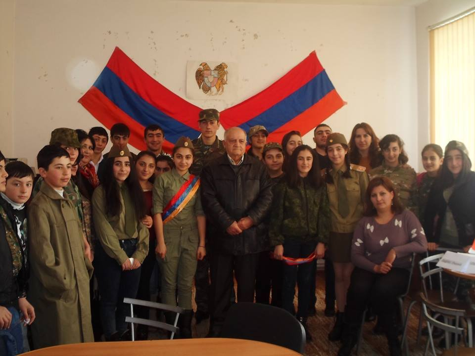 Youth Center of Akhalkalak celebrated the 24th anniversary of the Armenian Army