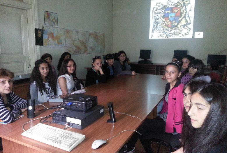 Youth Center of Akhaltskha celebrated Armenia's Republic Day