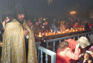 Akhaltskha celebrated St. Sarkis the Warrior Day